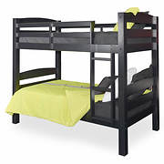 Powell Levi Twin-Size Bunk Bed - Black