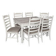 Powell Slater 7-Pc. Dining Set - White