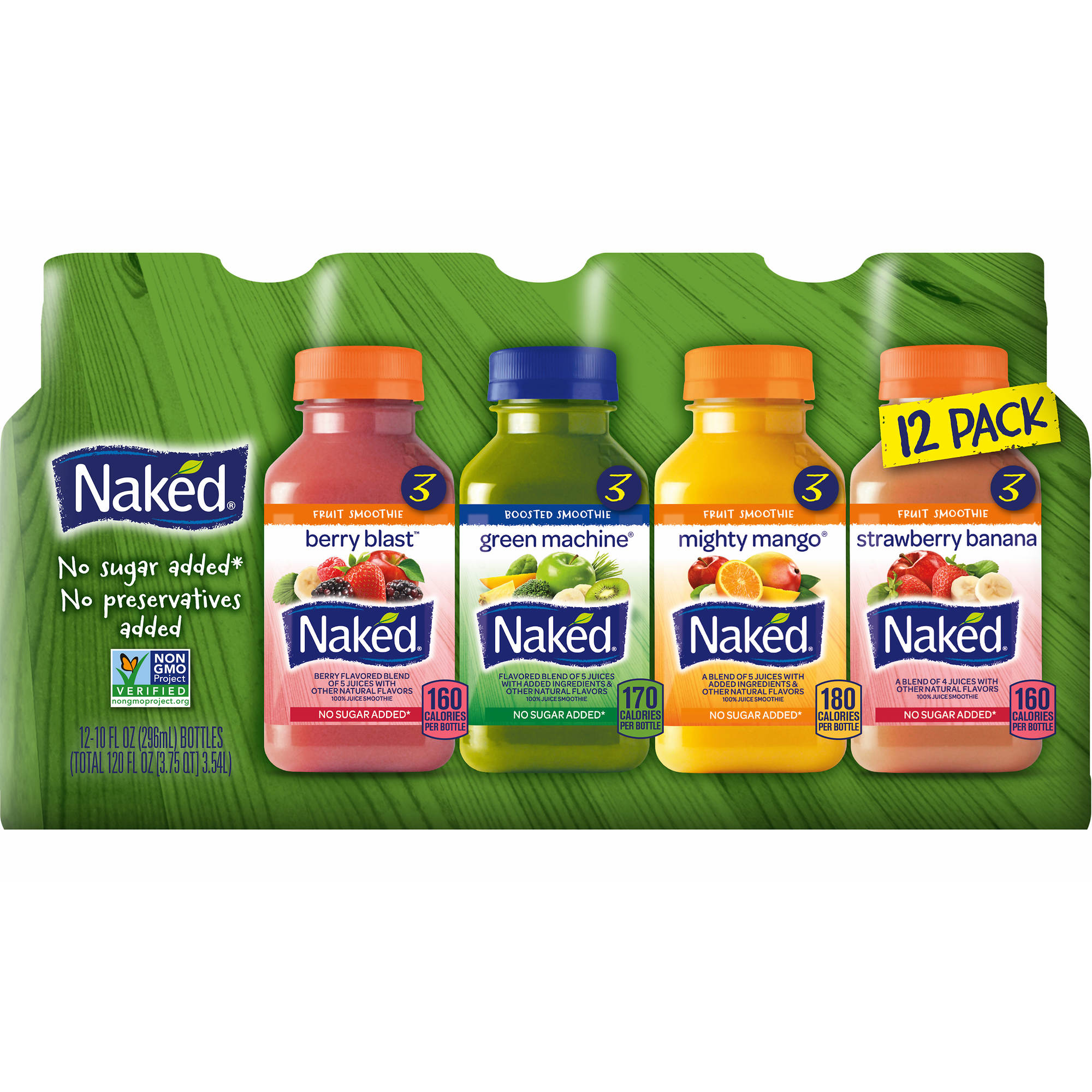 Boxed.com : Naked Juice Smoothies 12 x 10 oz. - Variety Pack