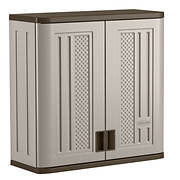 Suncast Wall Storage Cabinet - Gray