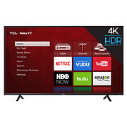 "TCL 55S403 55"" 4K HDR Smart Roku LED TV"
