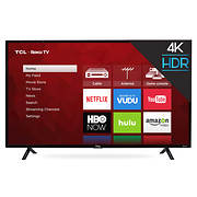 "TCL 49S403 49"" 4K UHD HDR Smart Roku LED TV"