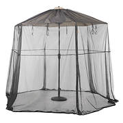 Classic Accessories Umbrella Insect Net Canopy - Black