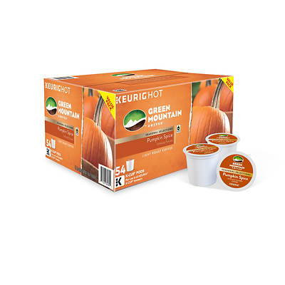 Green Mountain Green Mountain Pumpkin Spice K-cup Pods, 54 Ct.