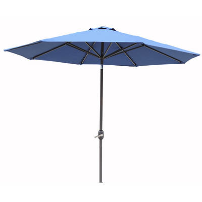 Berkley Jensen 9' Aluminum Umbrella - Navy