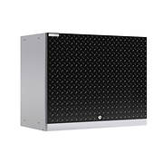 NewAge Products Performance Plus 2.0 Diamond Plate Wall Cabinet - Blac