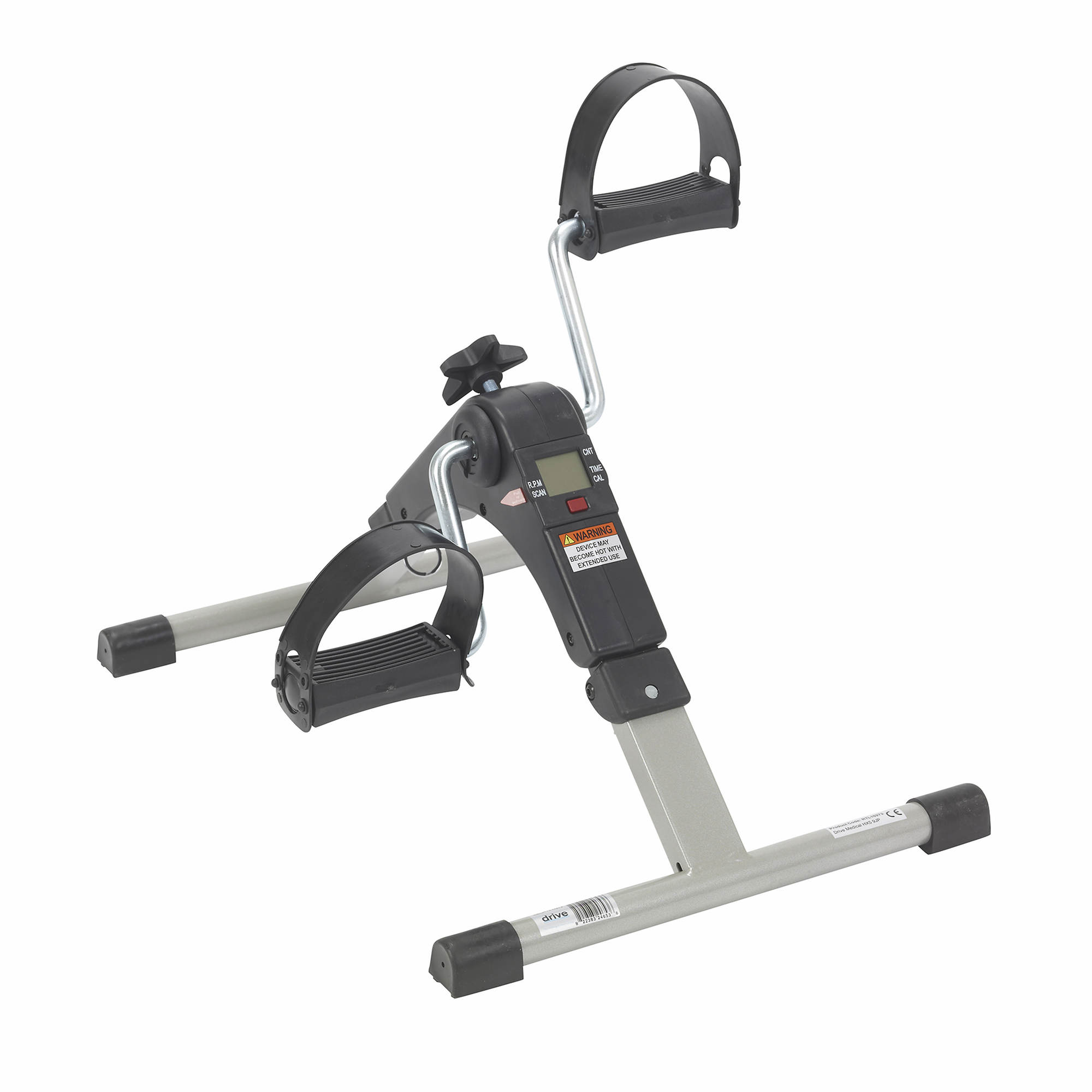 Drive Medical Folding Exercise Peddler With Electronic