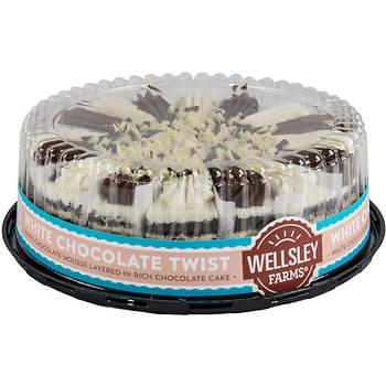 Wellsley Farms 10 White Chocolate Twist Cake Bjs Wholesale Club