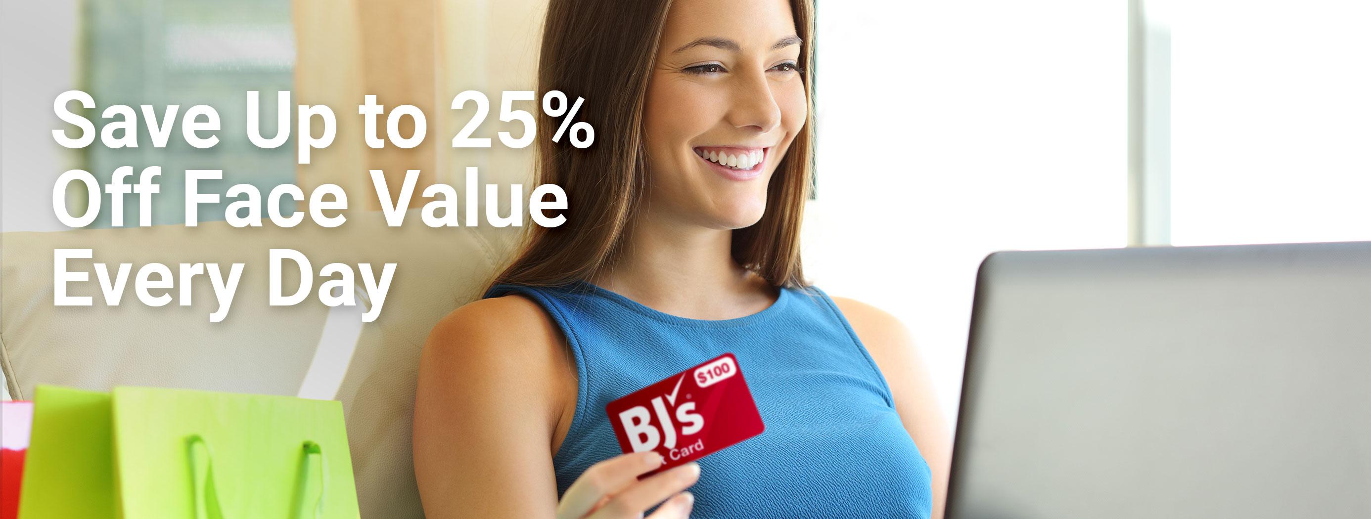 37c5773143 Order Gift Cards Online - BJS Wholesale Club