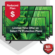 BJ's Protection Plus 3-Year Service or Replacement Plans for Televisio