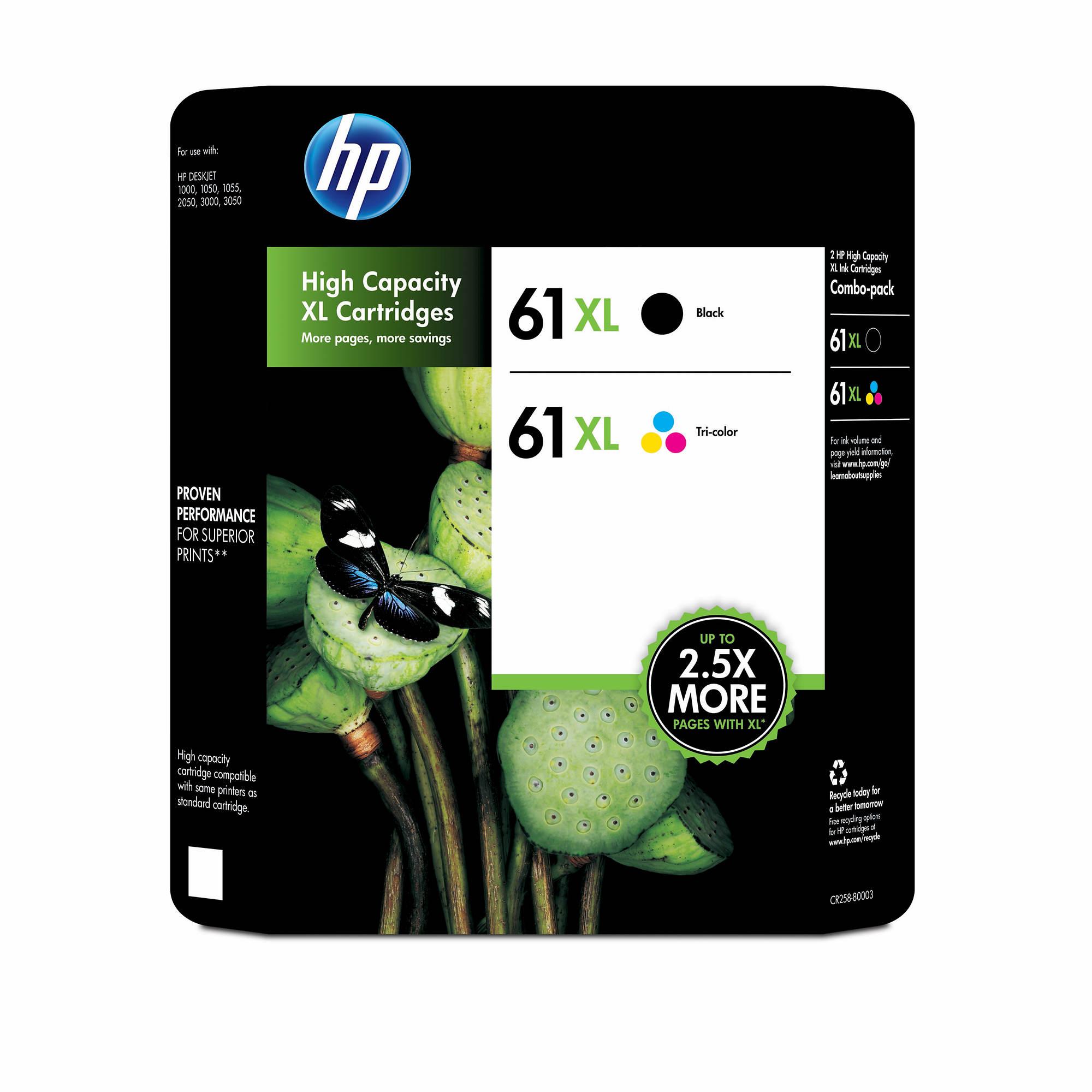 Hp printer ink 61 combo pack - Musiians friend