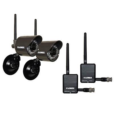 Lorex Live Digital Wireless Security Cameras 2 Pk Bj S