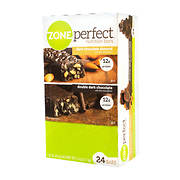 ZonePerfect Nutrition Bars Variety Pack, 24 pk./1.58 oz.