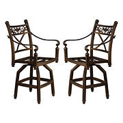 Summerville Empirial Barstools, 2 pk. - Antique Bronze