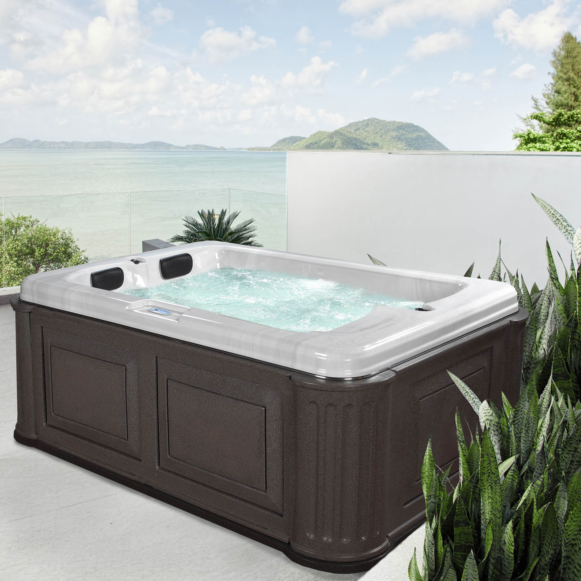 valentine american with spas spa play waterfall jacuzzi wayfair and jet handrail tub person outdoor pdx plug