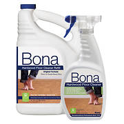 Bona Hardwood Floor Cleaner, 22 oz. with 96 oz. Refill