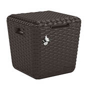 "Suncast 20"" x 20"" Cooler Cube - Brown"