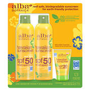 Alba Botanica Hawaiian Broad-Spectrum SPF 50 Sunscreen, 2 pk./6 oz. wi