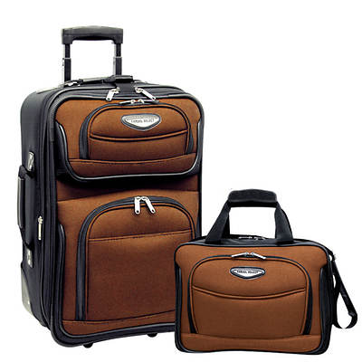Travel Select Travel Select Amsterdam 2-pc. Carry-on Luggage Set - Orange