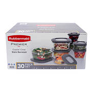 Rubbermaid Premier 30-Pc. Food Storage Set