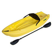 Lifetime 6' Youth Kayak with Paddle - Yellow