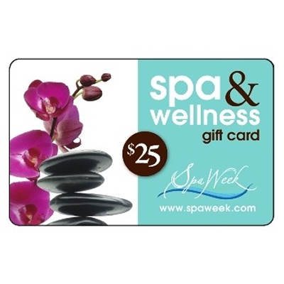 $25 Spa & Wellness Gift Card by Spa Week