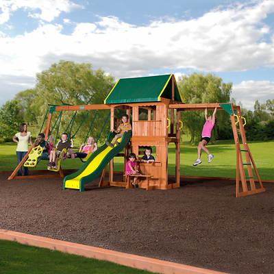 Backyard Discovery Prairie Ridge Swing Set Bj S
