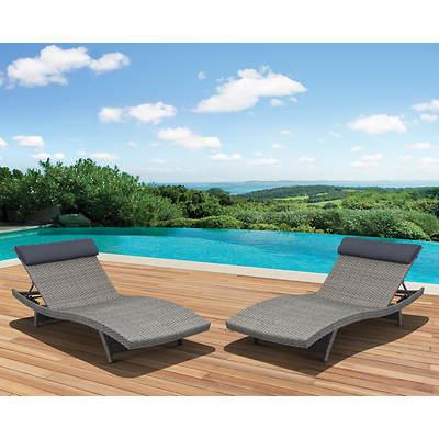 Cool Bjs Pool Lounge Chairs Berkley Jensen Antigua Wicker 3 Piece Ibusinesslaw Wood Chair Design Ideas Ibusinesslaworg
