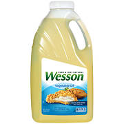 Wesson Vegetable Oil, 5 Quarts
