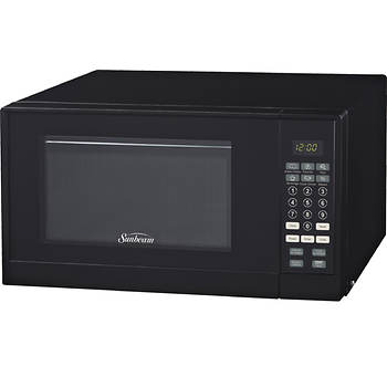 Sunbeam 09 Cu Ft Microwave Oven Bjs Wholesale Club