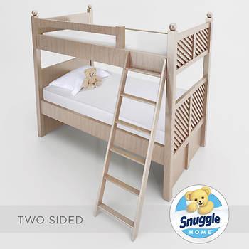 Snuggle Home Twin Size 6 Bunk Bed Mattress 2 Pk Bjs Wholesale Club