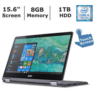 Acer Aspire R5 2-in-1 Laptop, Intel Core i5-7200U Processor, 8GB Memor