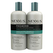 Nexxus Salon Hair Care Pro Mend Daily Shampoo and Daily Conditioner Tw