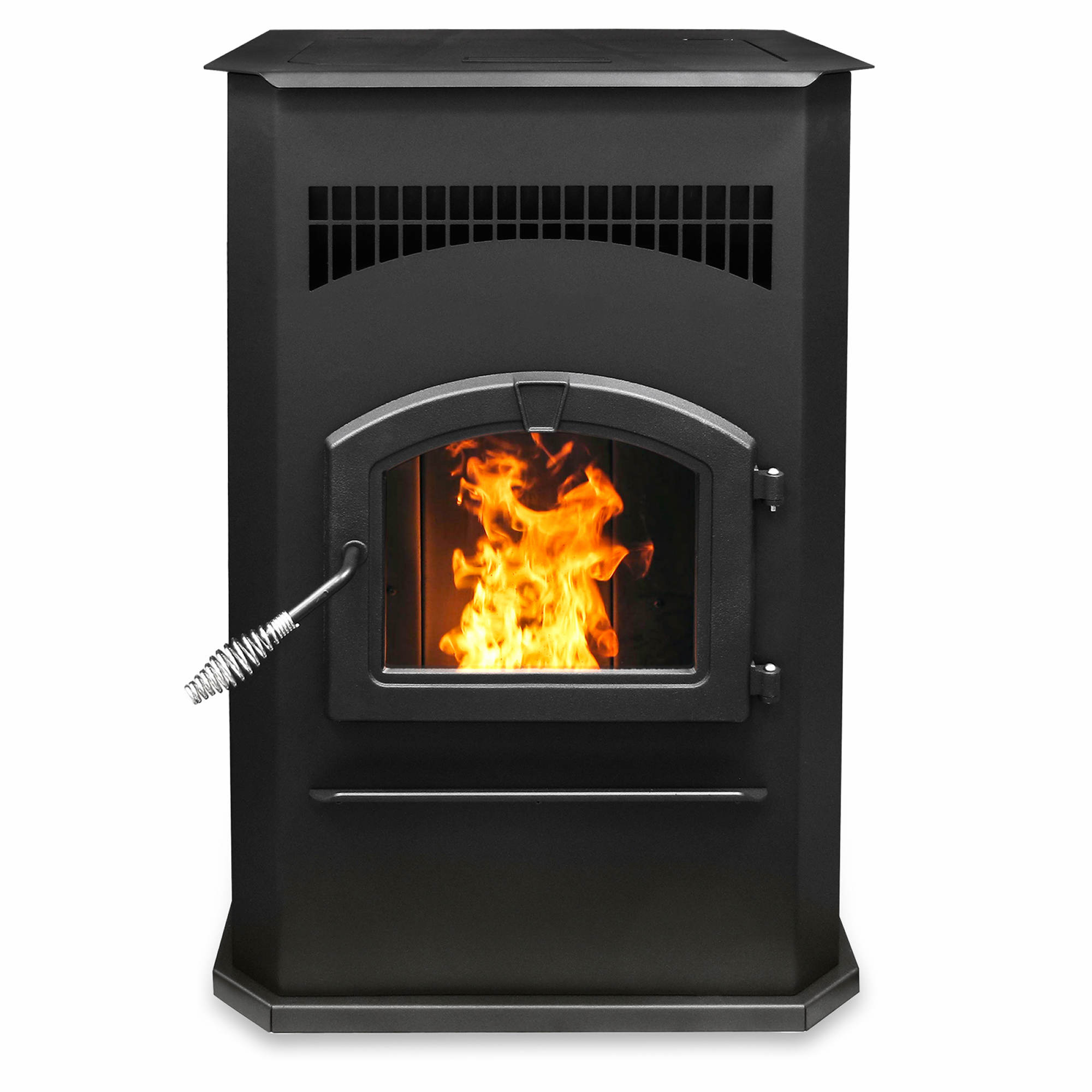 Sarah Check Hearth Cabinet: Pleasant Hearth Pellet Stove With 120-lb. Hopper