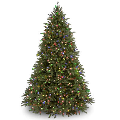 """National Tree Company 7'6"""" Pre-Lit Artificial Jersey ..."""