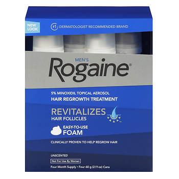Mens Rogaine Hair Loss And Hair Regrowth Treatment Minoxidil
