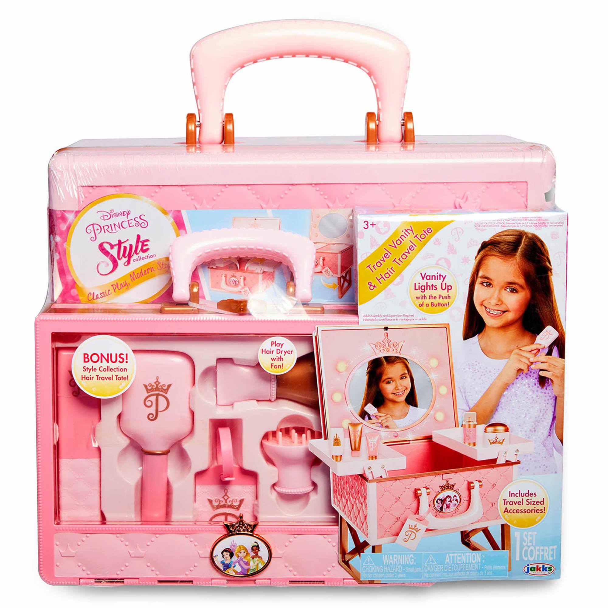Disney Princess Vanity And Hair Tote Bjs Wholesale Club