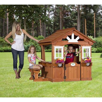 Backyard Discovery Scenic Wood Playhouse - BJ's Wholesale Club