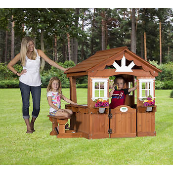 Backyard Discovery Scenic Wood Playhouse