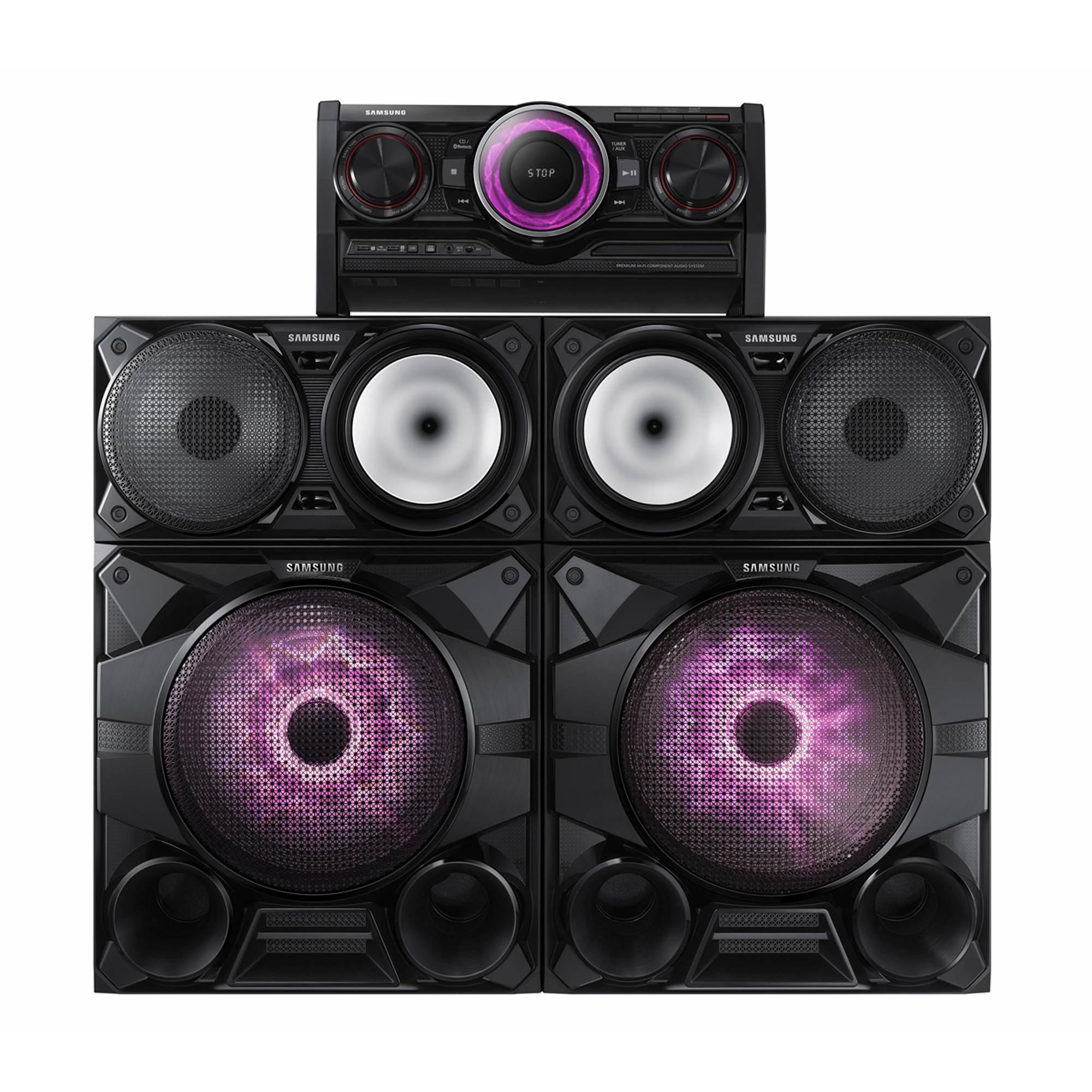 samsung mx hs7000 2300w giga system bjs wholesale club. Black Bedroom Furniture Sets. Home Design Ideas