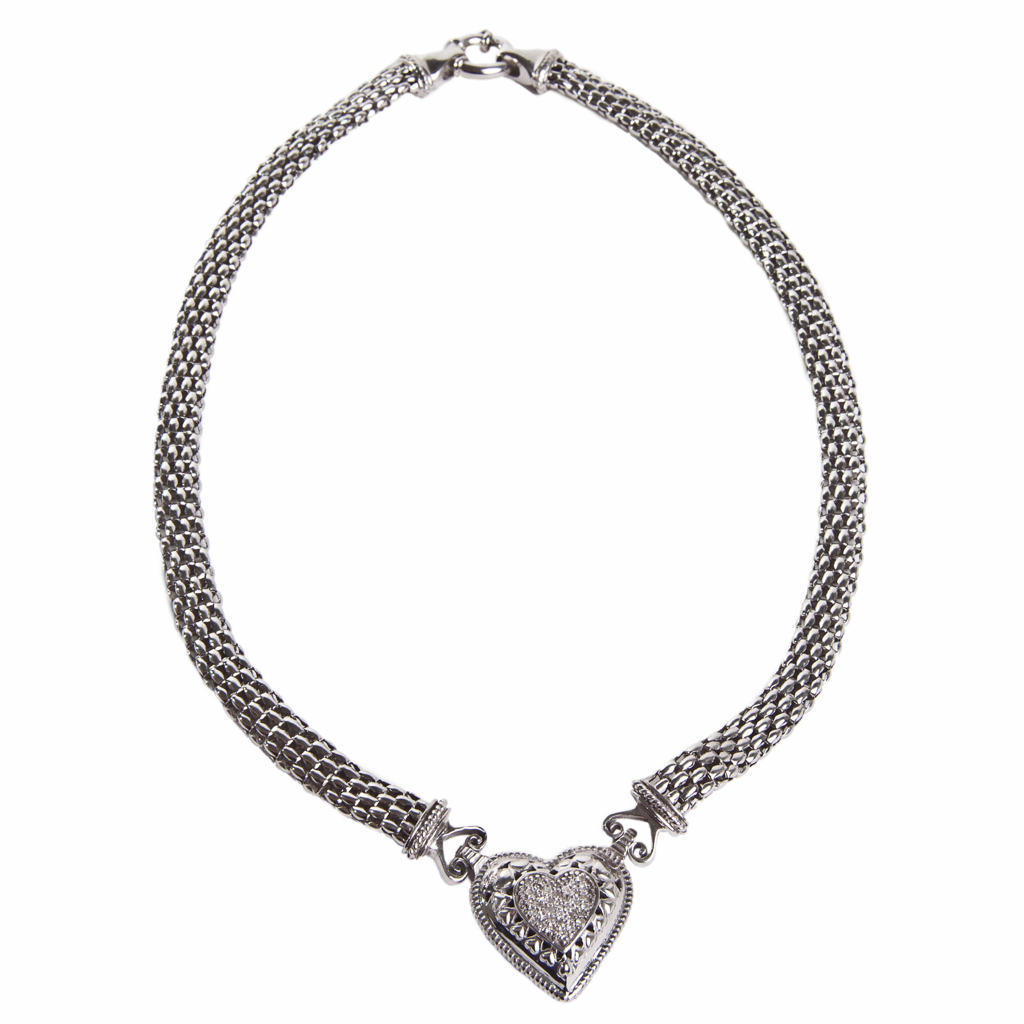 jryx lafayette mesh york fog signature new necklace