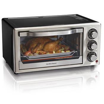 Hamilton Beach 6 Slice Convection Toaster Oven Silver