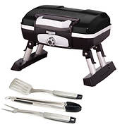 Cuisinart Petite Gourmet Portable Gas Grill with 3-Pc. Tool Set