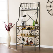 SEI Sovaoor Baker's Rack - Antique Gray