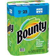 Bounty Select-A-Size Club Roll Paper Towels, 12 pk. - White
