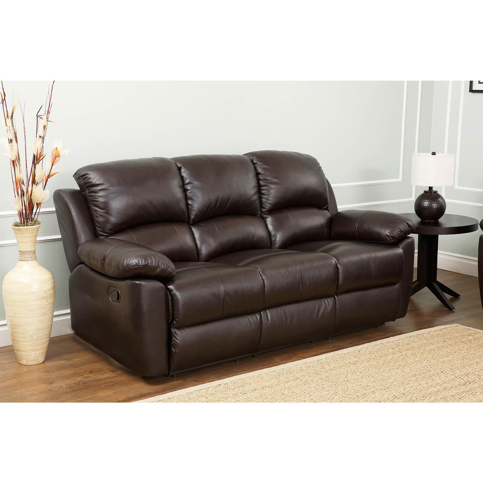 Italian Leather Reclining Sofa Thesofa