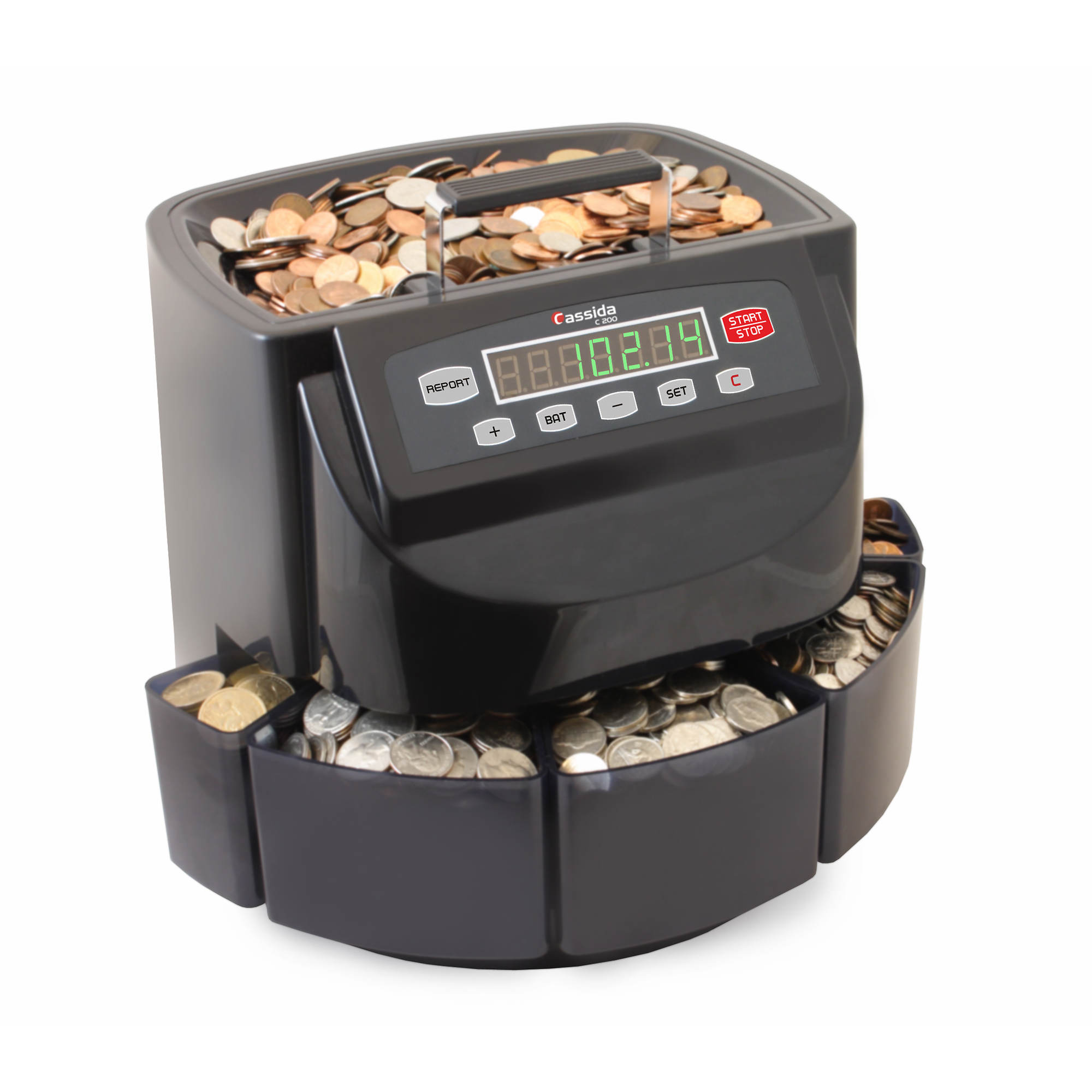 Cassida C200 Coin Counter Sorter Wrapper Bj S Wholesale Club