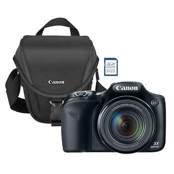 canon powershot sx530 16mp cmos 50x zoom wi fi camera with 8gb sdhc