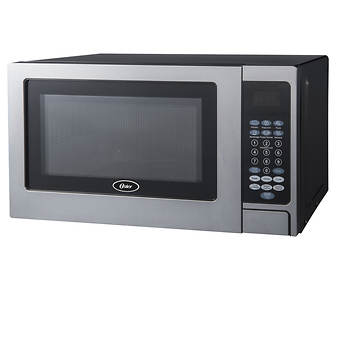 Oster 0 7 Cu Ft 700w Microwave Oven Stainless