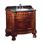 "OVE Decors Buckingham 36"" Bathroom Vanity - Dark Cherry"
